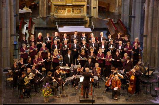 Concert in St Catherine's Church, Eindhoven